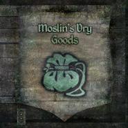 TESIV Sign Moslins Dry Goods