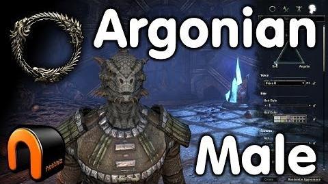 Elder Scrolls Online -- Argonian Male - Character Creation