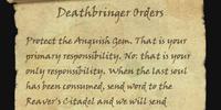 Deathbringer Orders