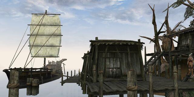 File:TES3 Morrowind - Ald Velothi - Ganus Lloryn's Shack exterior.jpg