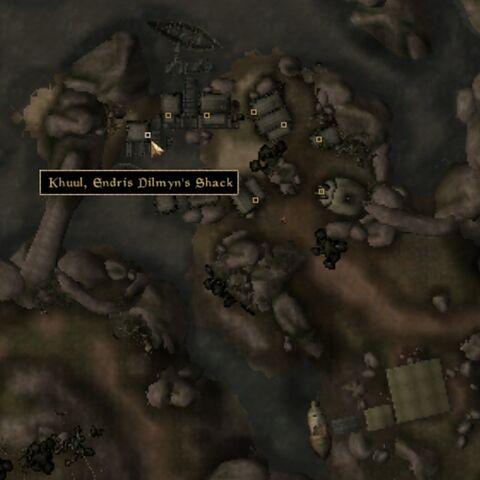 File:TES3 Morrowind - Khuul - Endris Dilmyn's Shack - location map.jpg