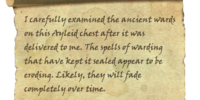 Faded and Dusty Scroll