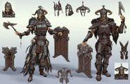 Steel Armor Full Sketch