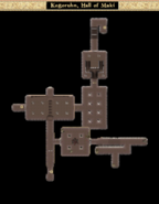 Kogoruhn, Hall of Maki - Interior Map - Morrowind