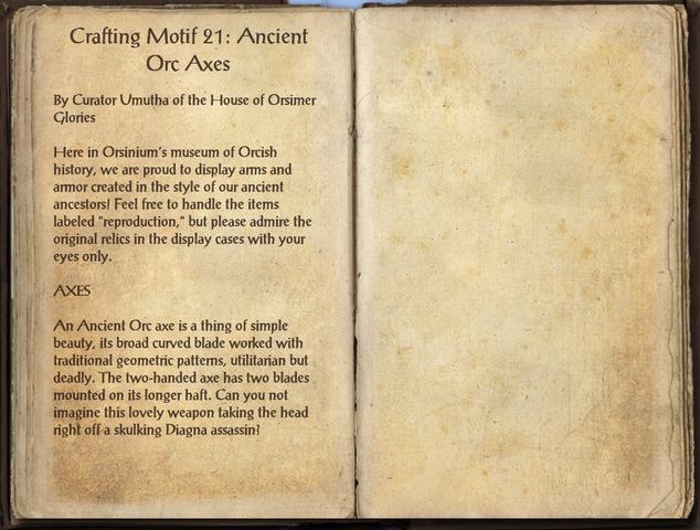 File:Crafting Motifs 21, Ancient Orc Axes.png