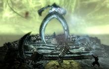 Summit of Apocrypha - Miraak Fights Sahrotaar