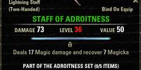 Adroitness