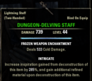 Dungeon-Delving Staff