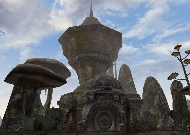 File:TES3 Morrowind - Dagon Fel - Andre Maul's Tower exterior.jpg