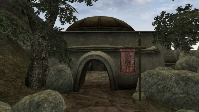 File:TES3 Morrowind - Suran - Suran Temple exterior.png