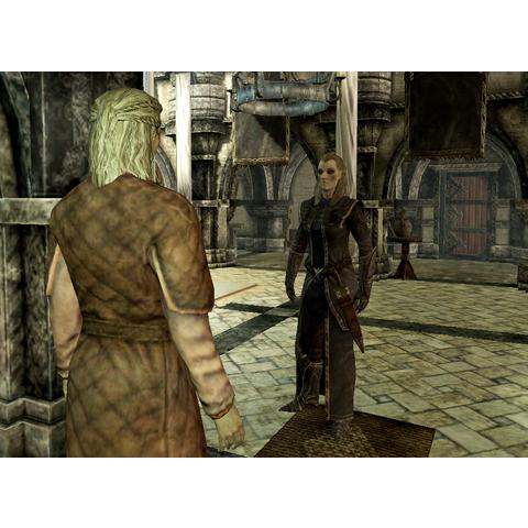 Dovakiin rozmawiający z Elenwen