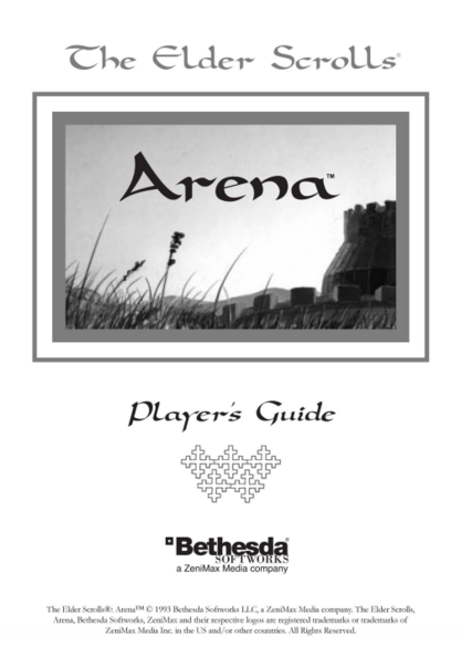 File:The Elder Scrolls Arena Player's Guide.png