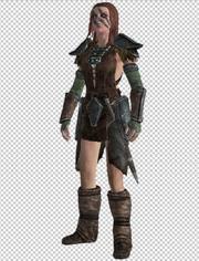 Aela the huntress 3D program 4