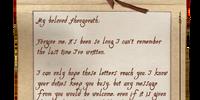 Letter to Sheogorath