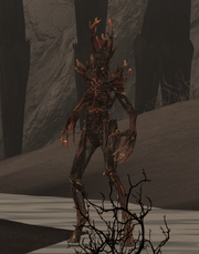 TESV Burnt Spriggan