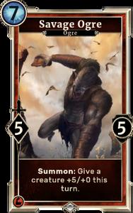 Savage Ogre (Legends)