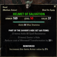 Saviors Hide - Helmet 50