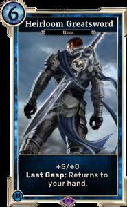 Heirloom Greatsword (Legends)