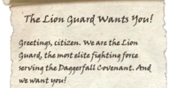The Lion Guard Wants You!