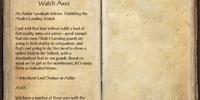 Racial Motifs 32: Abah's Watch