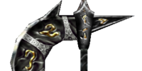 Ebony War Axe (Morrowind)