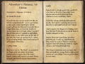 Adventurer's Almanac, 1st Edition 1 of 2.png