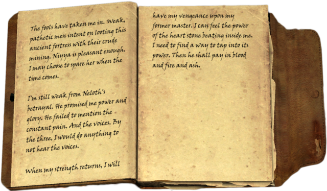 File:Ildari's Journal, vol. I.png