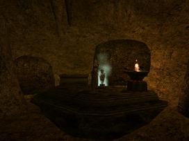 Mamaea, Shrine of Pitted Dreams Interior - Morrowind