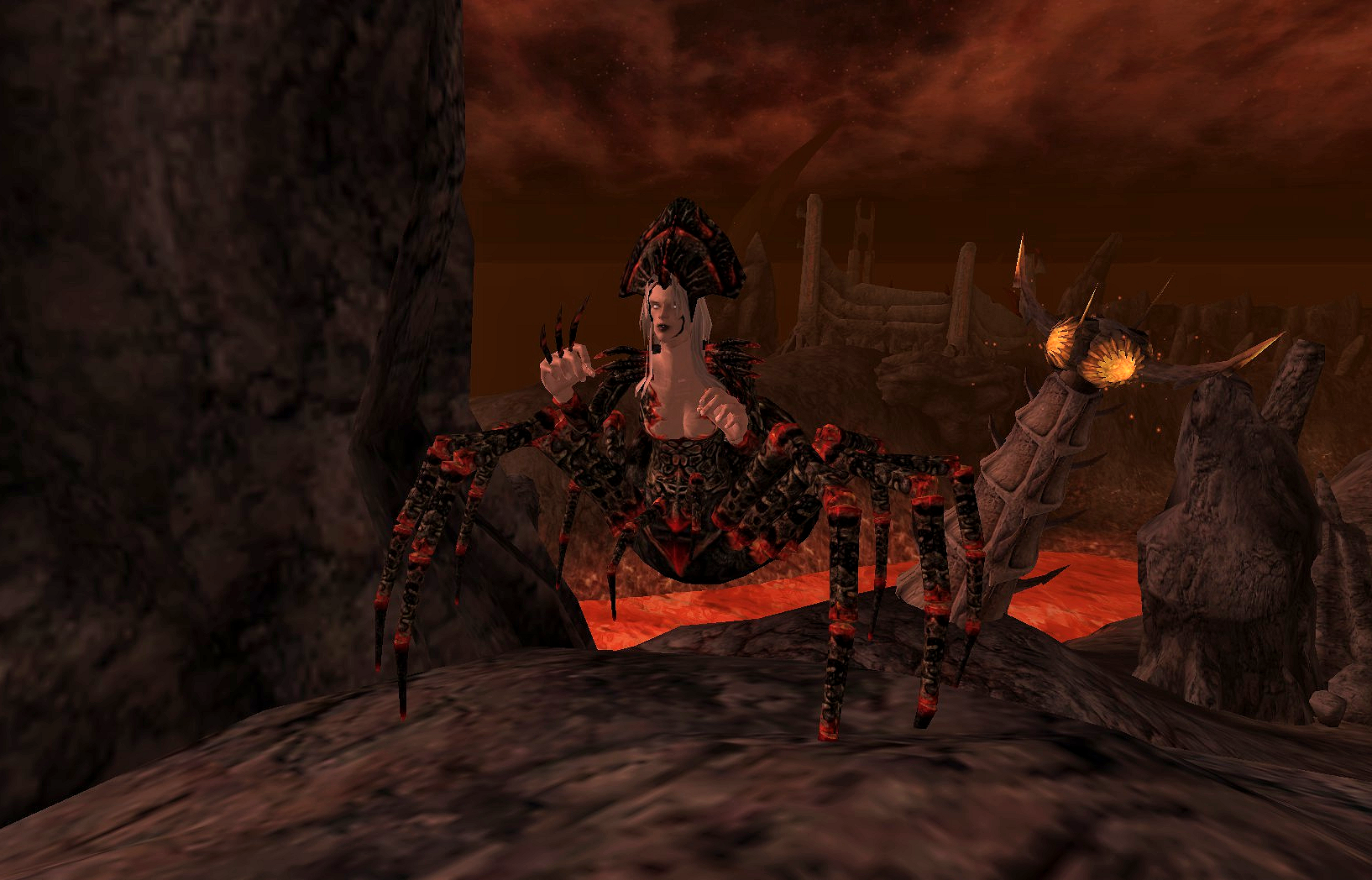 spider daedra oblivion elder scrolls fandom powered by wikia