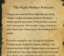 The Night Mother Watches