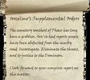 Urcelmo's Supplemental Orders