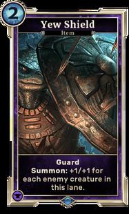 Yew Shield (Legends)