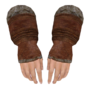 Fur Gauntlets (Oblivion) Female