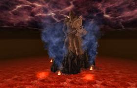 Boethia Statue in Realm