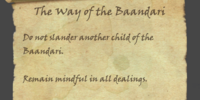 The Way of the Baandari