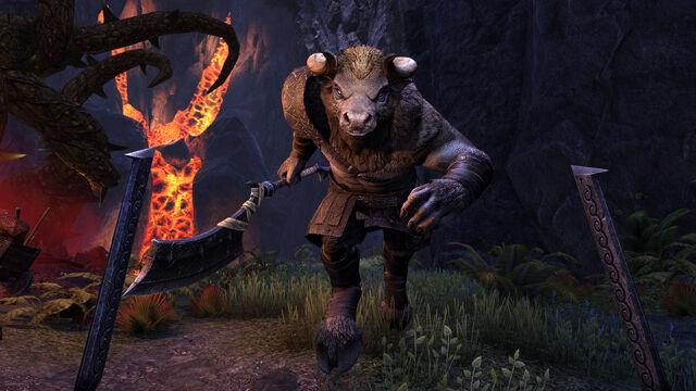 File:HotR Bloodroot Minotaurjump Morrowind.jpg