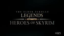 TES Legends Heroes of Skyrim