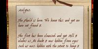 Conjurer's Note (Fort Bulwark)