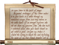 Letters to the Guild of Mages Letter One.png