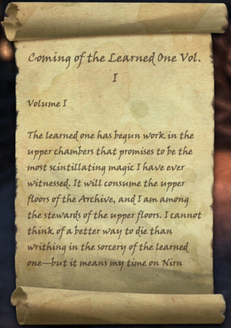 File:Coming of the Learned One, Vol. I.png