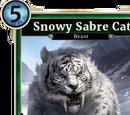 Snowy Sabre Cat (Legends)