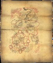 Fort Neugrad Treasure Map