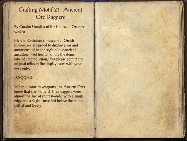 File:Crafting Motifs 21, Ancient Orc Daggers.png