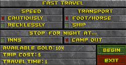 Fast Travel Daggerfall