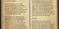 Fundaments of Alchemy