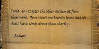 Rahgot's Reply
