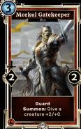 Morkul Gatekeeper (Legends)