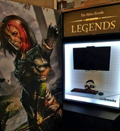 Aela the Huntress Legends PAX Booth