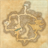 Divad's Chagrin Mine - Map