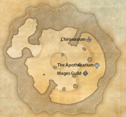 Elden Tree Mages legend map (online)
